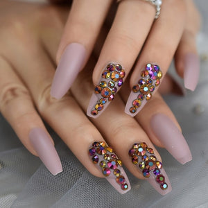 Luxury Jewelry Press On Nails -in Bag