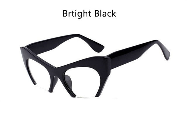 Cat Eye Glasses Black Vintage Spectacle Frames
