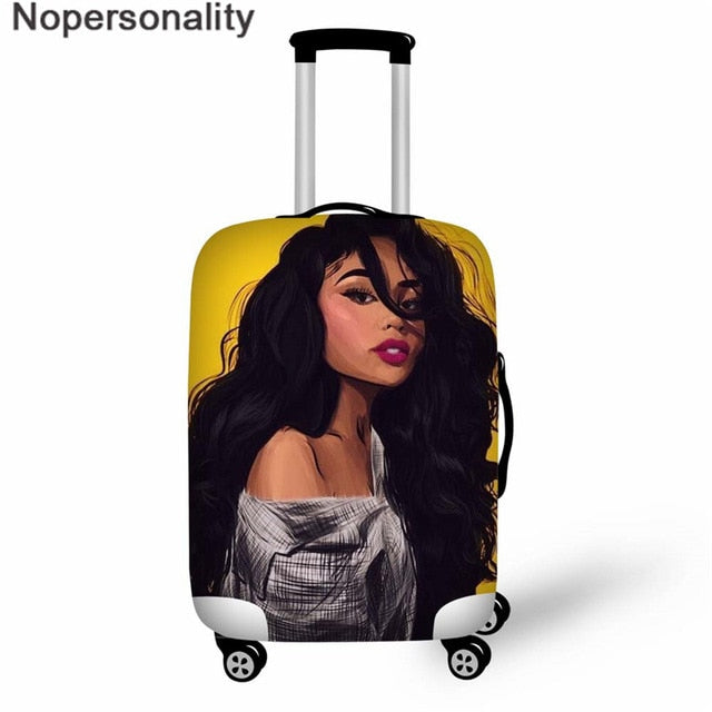 Protective Suitcase Cover Melaninglow - Neshaí Fashion & More