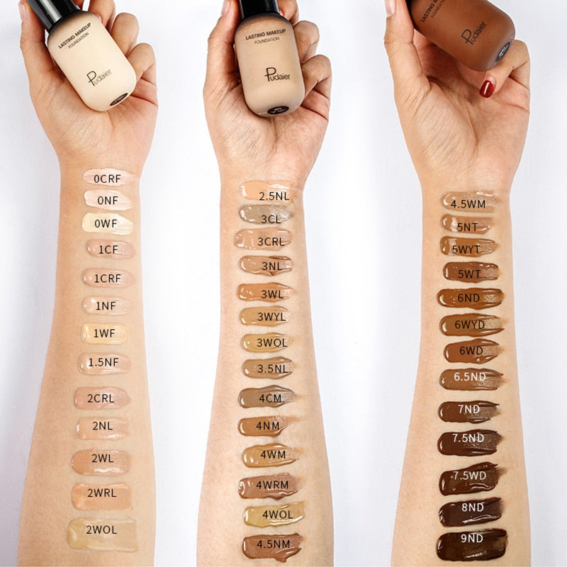 Face Foundation Cream Concealer Full Coverage Matte Base - Neshaí Fashion & More
