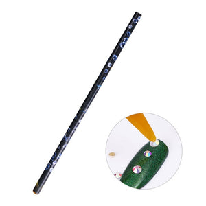 1 Pc Black Dual-ended Acrylic Painting Brushes