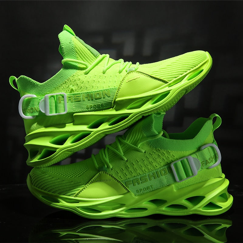 Men size Breathable Tennis Shoes