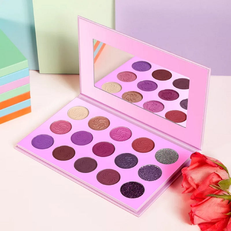 private label 4 Seasons Color Eyeshadow Palette - Neshaí Fashion & More