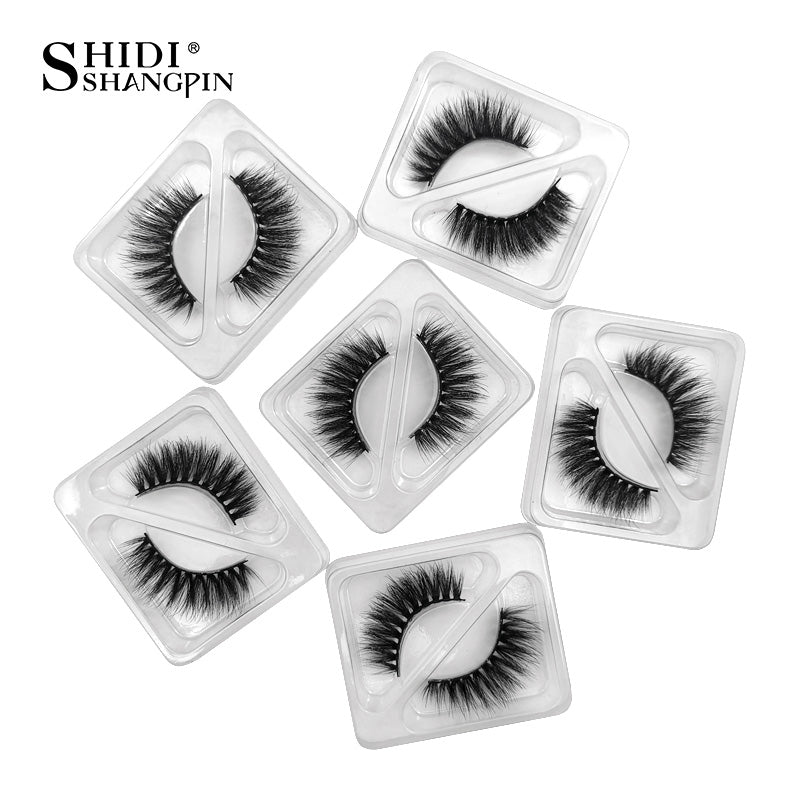 Wholesale Lashes 20/40/50/100pcs 3d Lash Mink Lashes Bulk Eyelashes Wholesale Mink Eyelashes Bulk Eyelash With Lids maquiagem