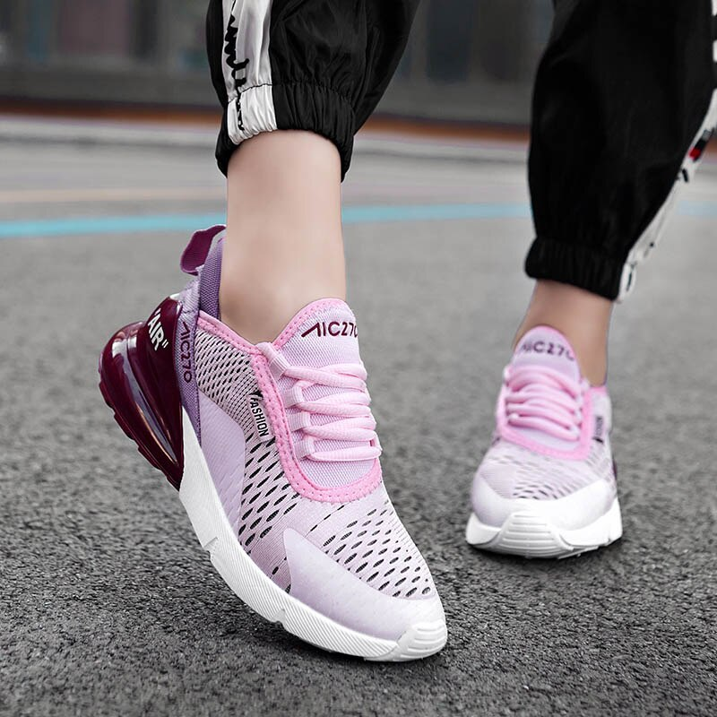 Fashion Trainers White Platform Sneaker