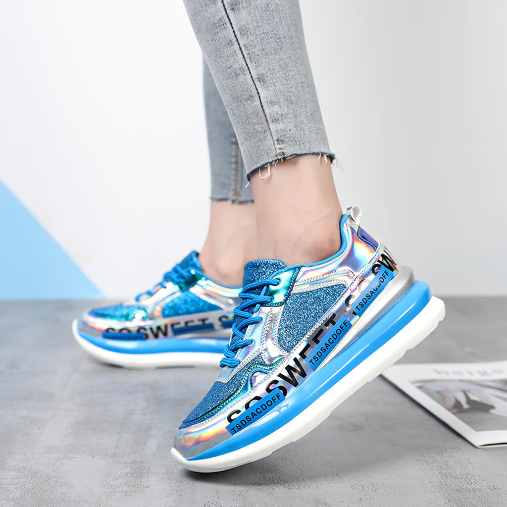 Colorful Mirror Trend Sneakers
