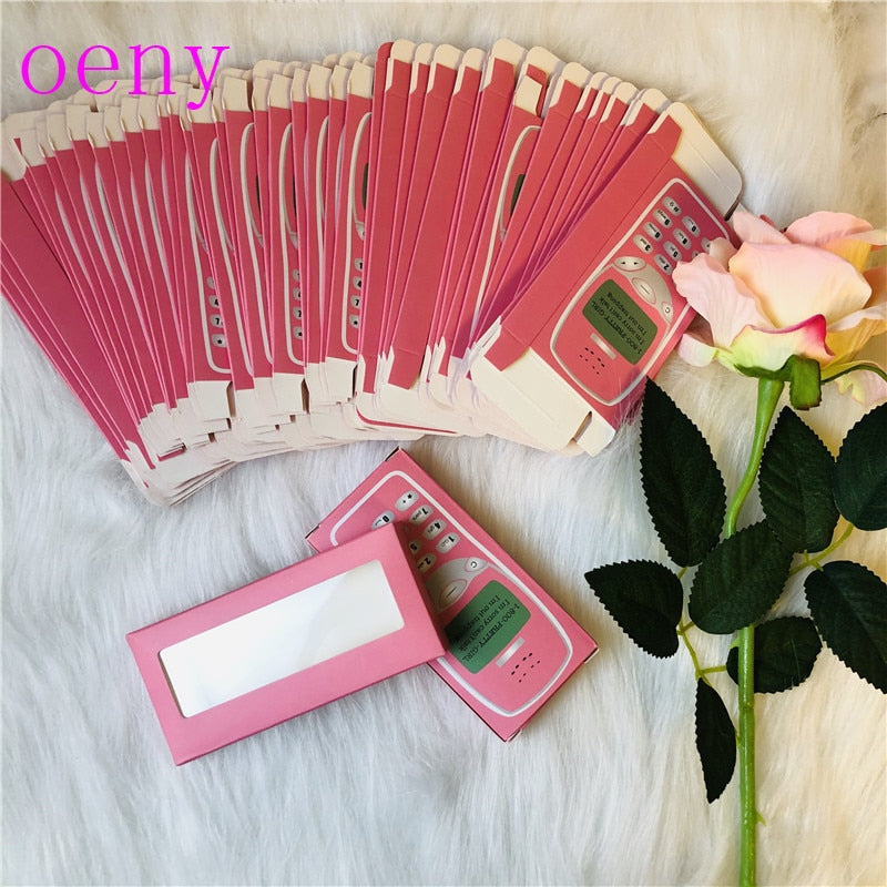 Rectangle Cardboard Box False Eyelashes Packaging
