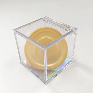 New Arrival Crystal Clear Lash DIsplay  Box for 25mm 27mm