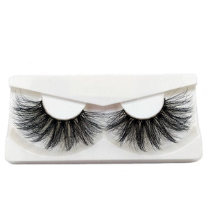 100% Cruelty Free Criss-cross Lashes Thick