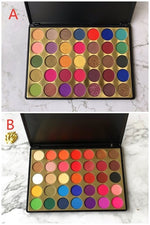 Custom Private Label Beauty 35 Colors  Eyeshadow Palette