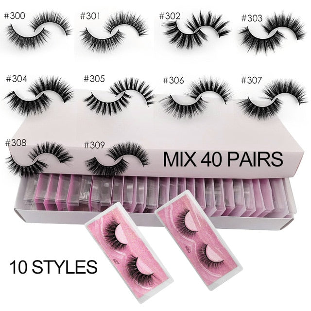 #300 Collection- 20/30/40/50/100 pairs wholesale lashes