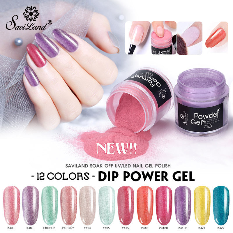 Nail Dip Powder 10g Gradient French Chrome