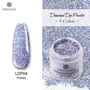9 Colors Diamond Dip Powder
