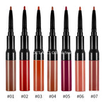 Wholesale Lipgloss Lip Liner Private Label 2 in 1 Makeup