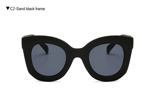Cat Eye Vintage Sunglasses Women 2020