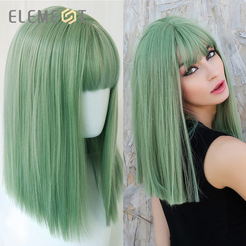 Element Synthetic Cosplay Wigs with Bangs