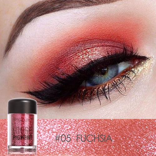 Loose Glitter Eye Shadow 18 Colors - Neshaí Fashion & More