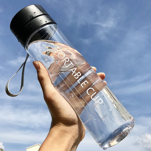 800ml/600ml Large Capacity Sport Bottle - Neshaí Fashion & More