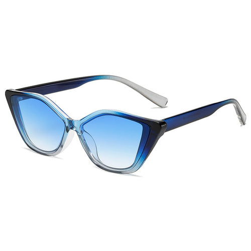 Cat Eye Vintage Gradient Sun Glasses
