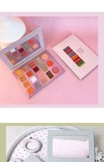 samsea 18 Color Nude Shining Eyeshadow