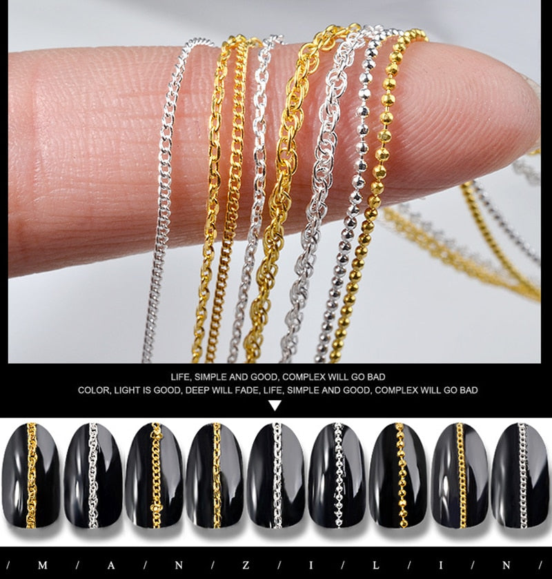 1PC Chain  Nail Art Decoration