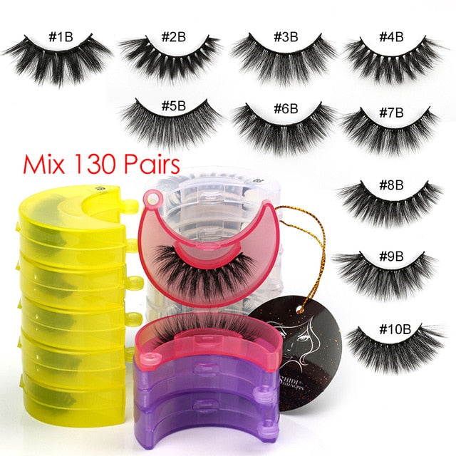 Moon Shaped case- wholesale cruelty free lashes
