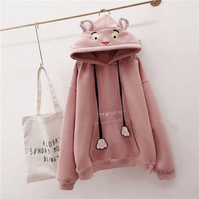 Lovely Snuggly Casual Hooded Hoodies Pullover - Neshaí Fashion & More