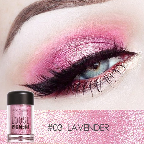 Loose Pigments-Glitter Powder Eyeshadow *2nd vendor - Neshaí Fashion & More