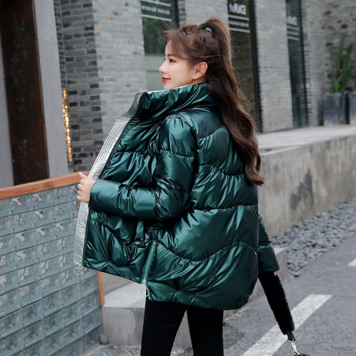 METALLIC STREET FASHION Winter Warm Parka - Neshaí Fashion & More