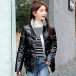 METALLIC STREET FASHION Winter Warm Parka