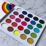 25 Color High Pigmented Matte Rainbow Eyeshadow  Palette Custom Private Label - Neshaí Fashion & More