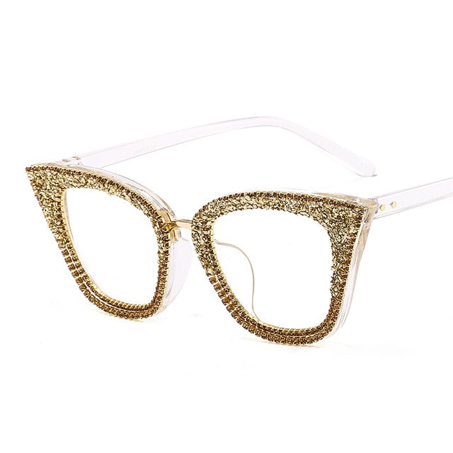 Vintage cat eye sunglasses frame