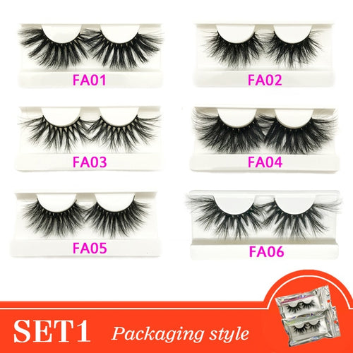 Mink Eyelashes Wholesale With Packaging