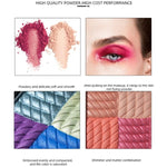 4 Colors Eyeshadow Palette Eye kit sfr - Neshaí Fashion & More