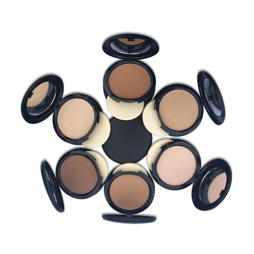 Wholesale Single Color Compact Pressed Powder Concealer Private Label