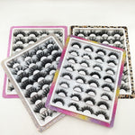 Luxe 16pairs Lash Book Diamond  Package - Neshaí Fashion & More