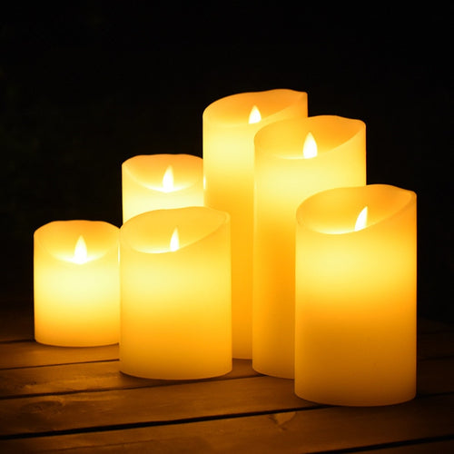 Flameless Flickering LED Candle - Neshaí Fashion & More