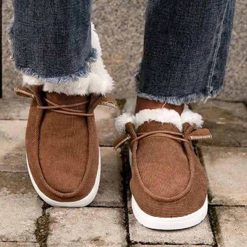 Low Step In-Winter Shoes - Neshaí Fashion & More