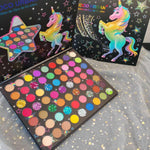 63 Colors Shiny Unicorn Eyeshadow Matte Glitter Eyeshadow Palette- unicorn dream - Neshaí Fashion & More
