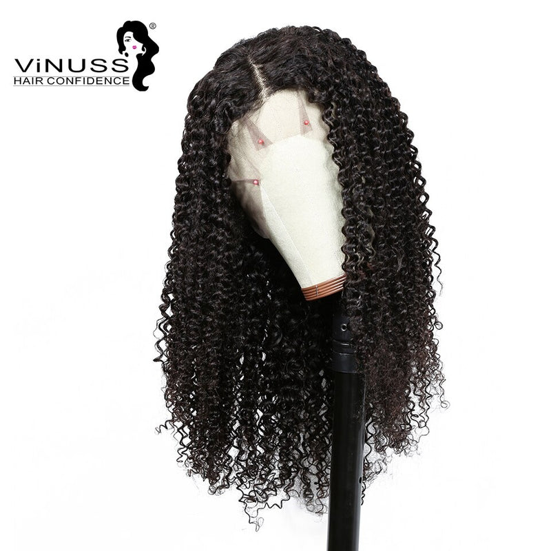 13*6Lace Frontal Wig deep wave Pre Plucked Wig
