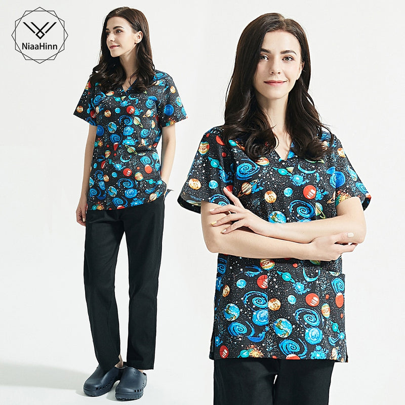 Unisex Laboratory clothing scrubs uniform