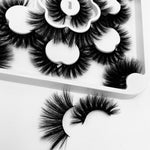 Flower Tray Eyelashes Dramatic Long- df050-df053 - Neshaí Fashion & More
