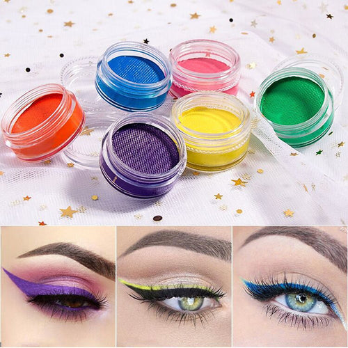 10 Pieces Private Label Matte/ Fluorescent Neon Eye liner