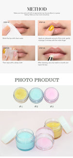 3 colors Lip Scrub Private Label Wholesale 10 pcs