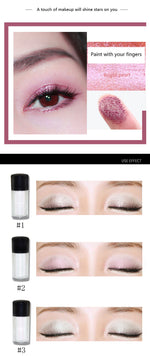 Glitter Pigment Eyeshadow Private Label 10 pcs
