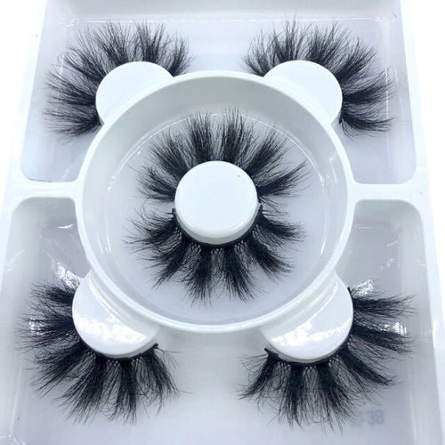 FD - SD 3 Pairs Faux Eyelashes- HBZGTLAD