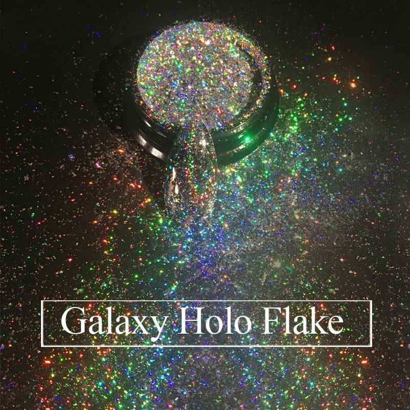 Galaxy Holo Flakes 0.2g/box Laser Bling
