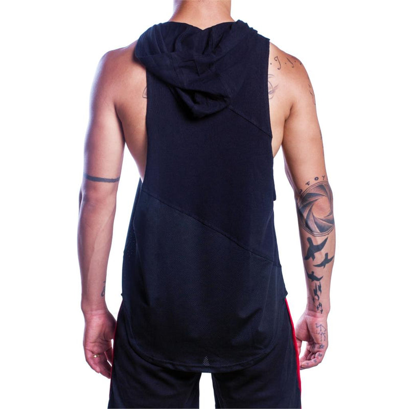 Tank Top with hooded Muscle Tankops - Neshaí Fashion & More
