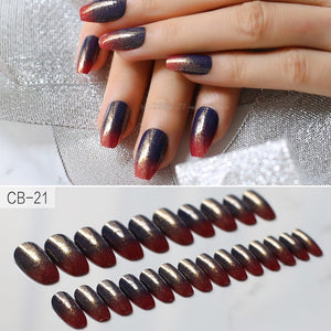 Pattern Press On nails
