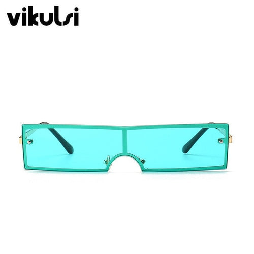 Rectangle Sunglasses Retro Eyewear